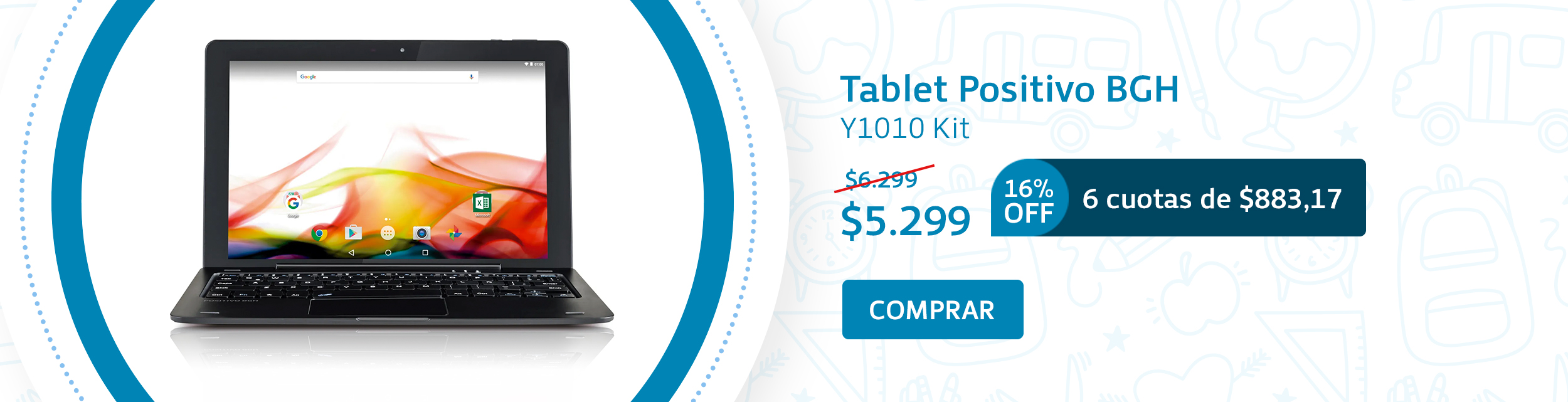 Tablet Back To School
